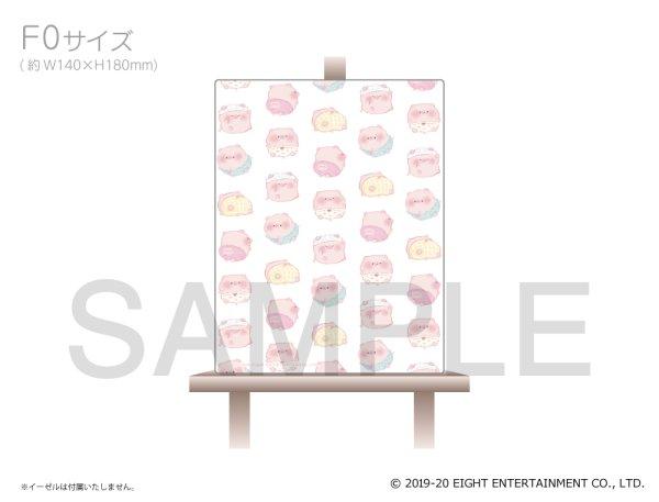 画像1: ぽてぽてこぶたちゃん キャンバスアート(おぱんつ) (1)